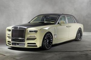 Rolls-Royce Phantom Pimped By Mansory
