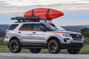 Ford Explorer Customized By Pediatric Cancer Patients