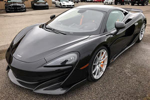 First McLaren 600LT In America Delivered To John Hennessey