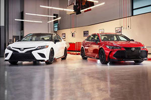 Toyota Shows Off TRD Camry And Avalon Before LA