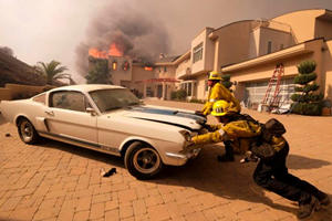 Malibu Firefighters Know A Classic Worth Saving When They See One