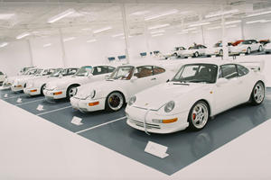 This Super-Secret White Porsche Collection Has To Be Seen To Be Believed