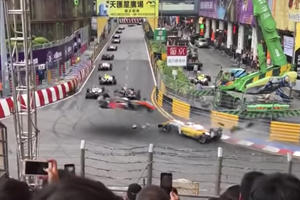 Watch F3 Driver Sophia Floersch Go Airborne And Slam Into A Wall