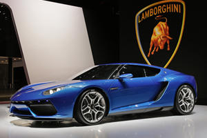 Lamborghini Plotting All-Electric Grand Tourer?