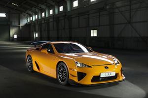Teased: Lexus LFA Nurburgring Package