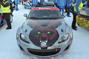 Video: Mazda MX-5 Hits the Ice