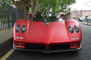 Matte Red Pagani Zonda S on Sale for £599,950 in London