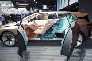 BMW Vision iNext Previews Future Flagship Electric SUV