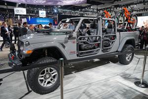 Mopar's Ready To Modify The New Jeep Gladiator