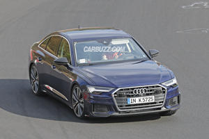 Audi S6 Sedan Spied Flexing Its Muscles