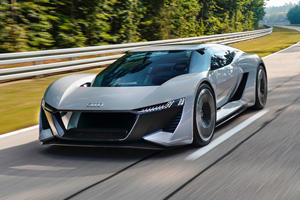Will Audi's 760-HP Electric Supercar Enter Production?