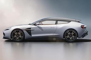 The Aston Martin Vanquish Zagato Is The Best-Looking Wagon Ever Made