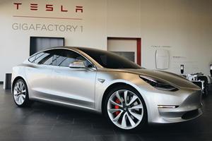 Tesla Model 3 Breaches 100,000 Sales For 2018