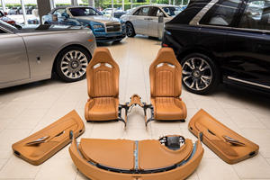 This Bugatti Veyron Interior Costs Way More Than Your Car