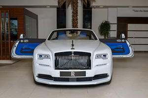 Rolls-Royce Dawn Trichromatic Is A Blue-And-White One-Off