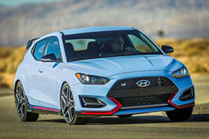 2019 Hyundai Veloster N Is Insanely Expensive To Lease Right Now