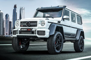 Trucks Don't Get Madder Than The Brabus 700 4x4² Final Edition