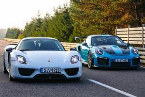 5 Fastest Cars Porsche Has Ever Made