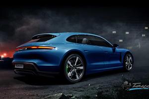 Porsche Taycan Shown In New Body Styles