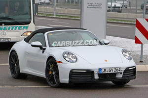 This Is Our Clearest Look Yet At The New Porsche 911 Cabriolet