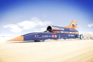 1000-MPH Bloodhound Jet Car Project Is Back On