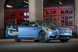 Lincoln Continental Suicide Doors Officially Return For 2019