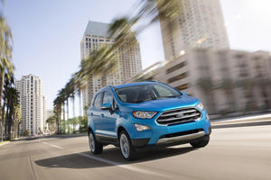 Ford EcoSport Goes Where No SUV Has Gone Before