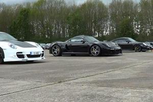 Drag Race Tuesdays Gets Kinky with Porsche Quadruplets