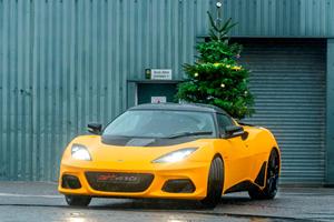 Lotus Wants To Wish You A Merry Driftmas