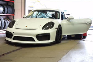 Porsche Cayman GT4 Upgraded With GT3 RS Flat-Six Engine