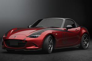 Check Out The Mazda MX-5 Miata's Removable Carbon Fiber Hardtop