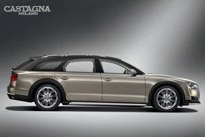 Audi A8 Transformed Into Stunning W12-Powered Wagon