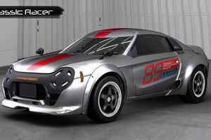 Honda Needs To Build This Cute Retro Racer Concept