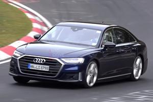 2020 Audi S8 Runs Buck Naked Around The Ring