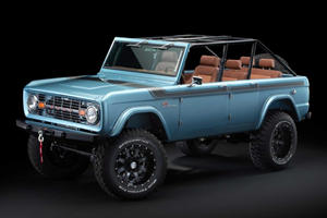 Original Ford Bronco Gets Four Doors And 670 Horsepower