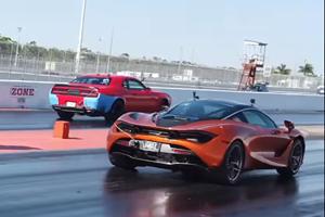 McLaren 720S Vs. Dodge Demon Is The Ultimate Supercar-Muscle Car Shootout