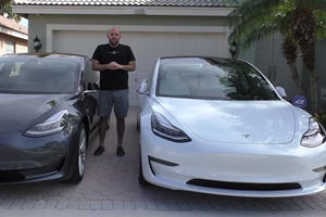 Two Tesla Model 3s Built Seven Months Are Very Different
