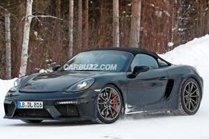 Will The Porsche 718 Boxster Spyder Get The GT3's Flat-Six?