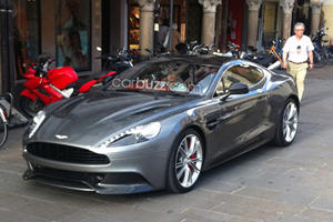 Revealed: 2013 Aston Martin Vanquish Spotted without Camouflage