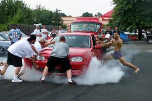 Burnt Clutch Burnouts