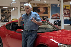 Jay Leno Welcomes Scion FR-S to his Garage