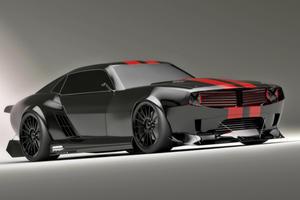 Pontiac Firebird TT Black Edition Concept Car by Kasim Tlibekov