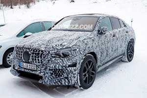 The 603-HP Mercedes GLE 63 Coupe Is Coming
