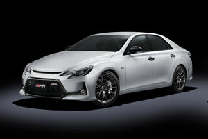 Toyota Mark X GRMN Is A Camry On Steroids