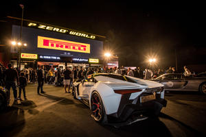 Pirelli Opens New Flagship Store With Supercar Party