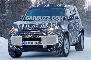 Is This Our First Look At The New Hybrid Land Rover Defender?