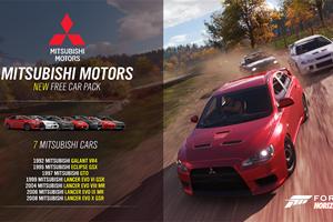 Mitsubishi Finally Returns To Forza Horizon 4