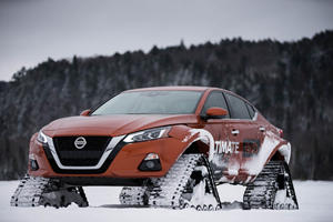 This Is The Ultimate All-Wheel-Drive Nissan Altima