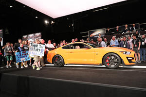 First 2020 Ford Mustang Shelby GT500 Sells For $1.1 Million