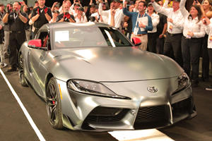 The First 2020 Toyota Supra Just Sold For INSANE Money